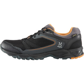 Haglöfs Trail Fuse GT Zapatillas Hombre, true black/desert yellow